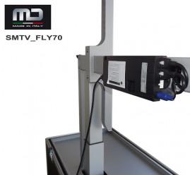 ALTAIR - 6+2+1 Compact Series - Sistema completo intercom wireless per 9 utenti